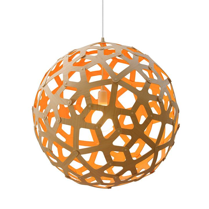 Coral Kitset Bamboo Pendant Lamp