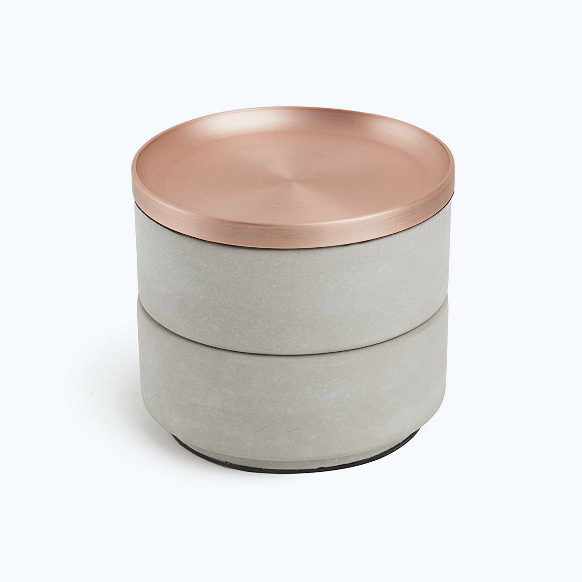 Tesora Concrete Jewelry Box