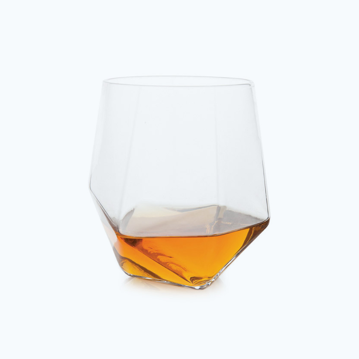 Geometric Whiskey Tumbler, Set of 2