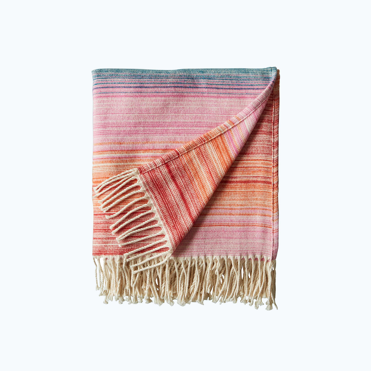 Modern Ombre Throw Blanket