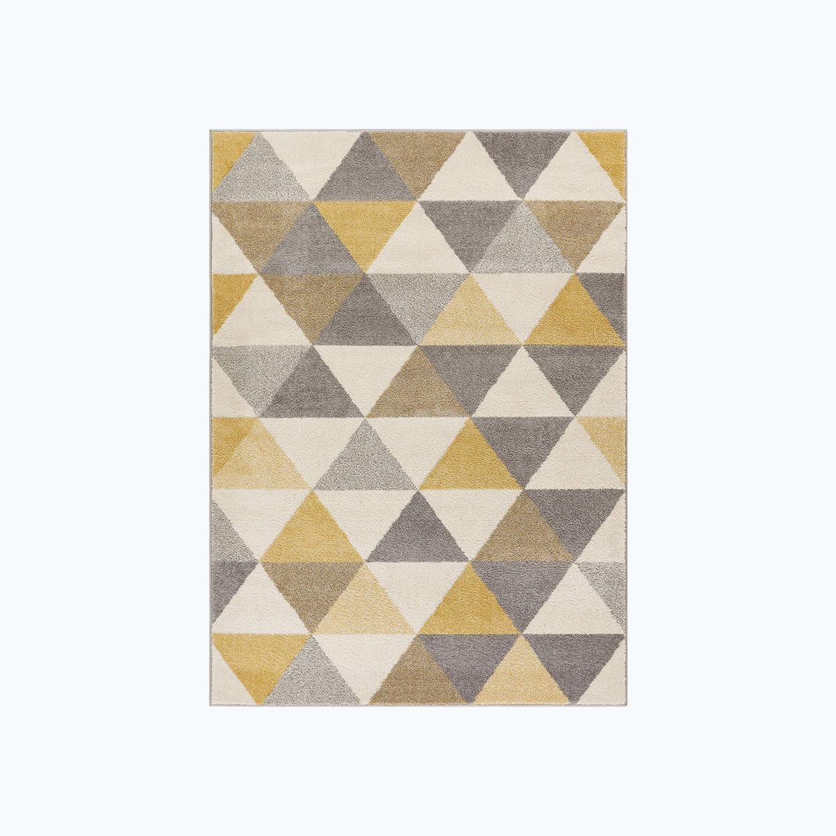Isometric Triangle Pattern Rug