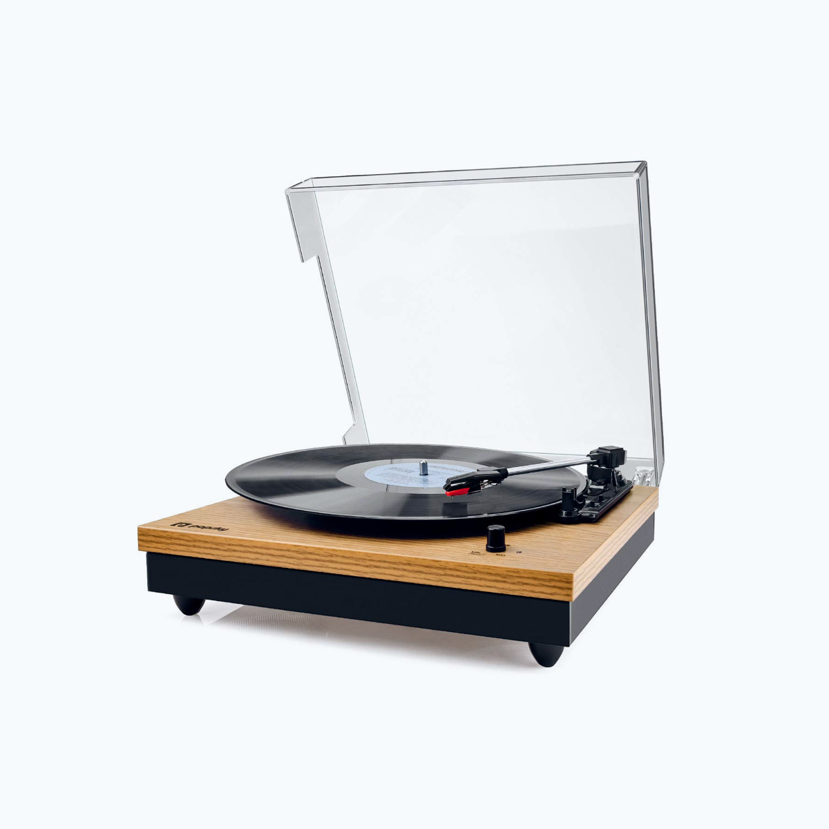 Vintage Turntable with Bluetooth
