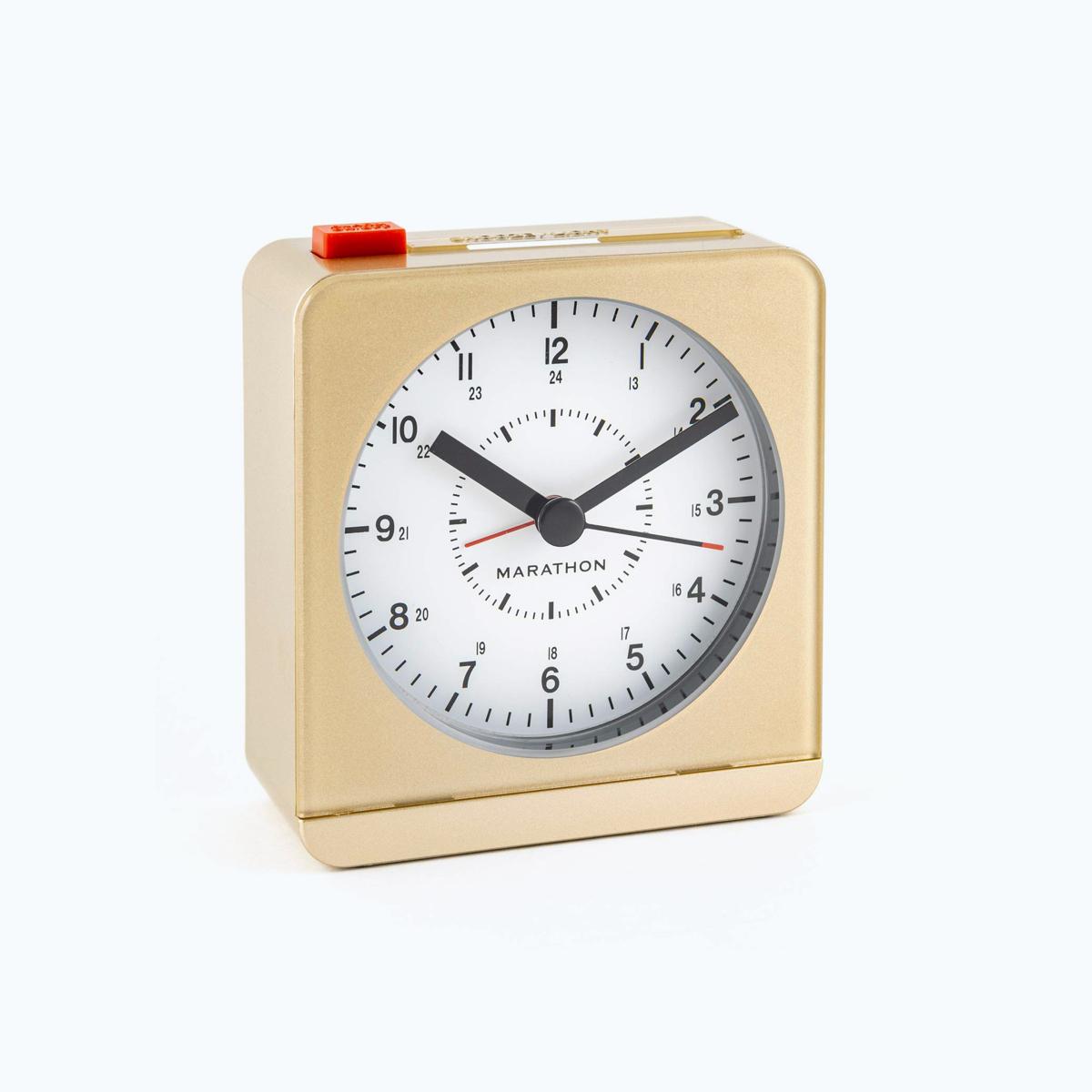 Marathon Retro Alarm Clock