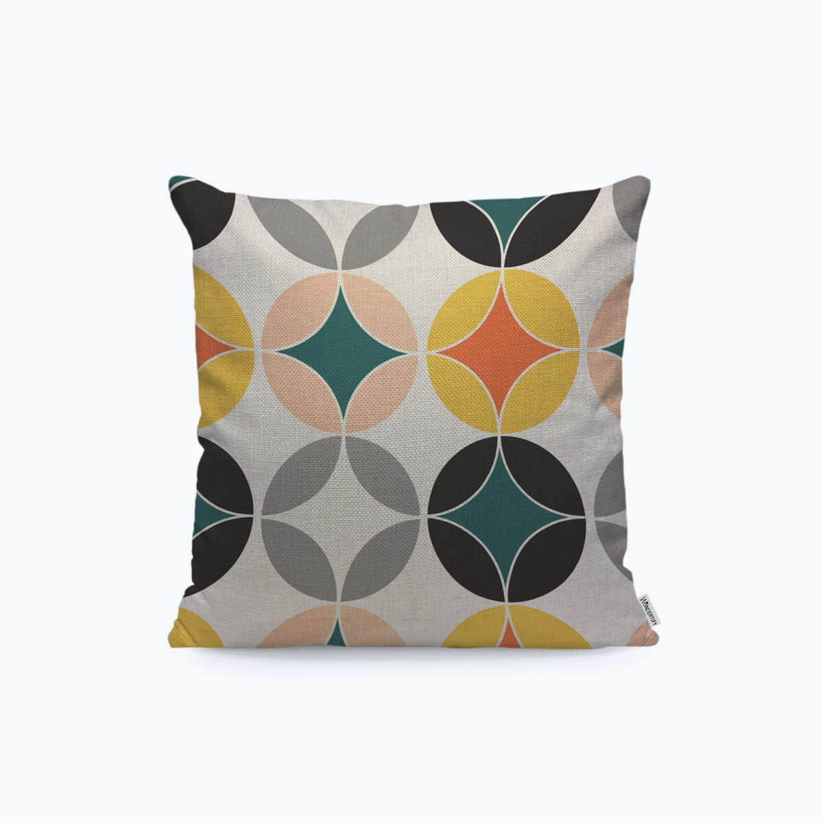 Modern Pillow Cover, Circles