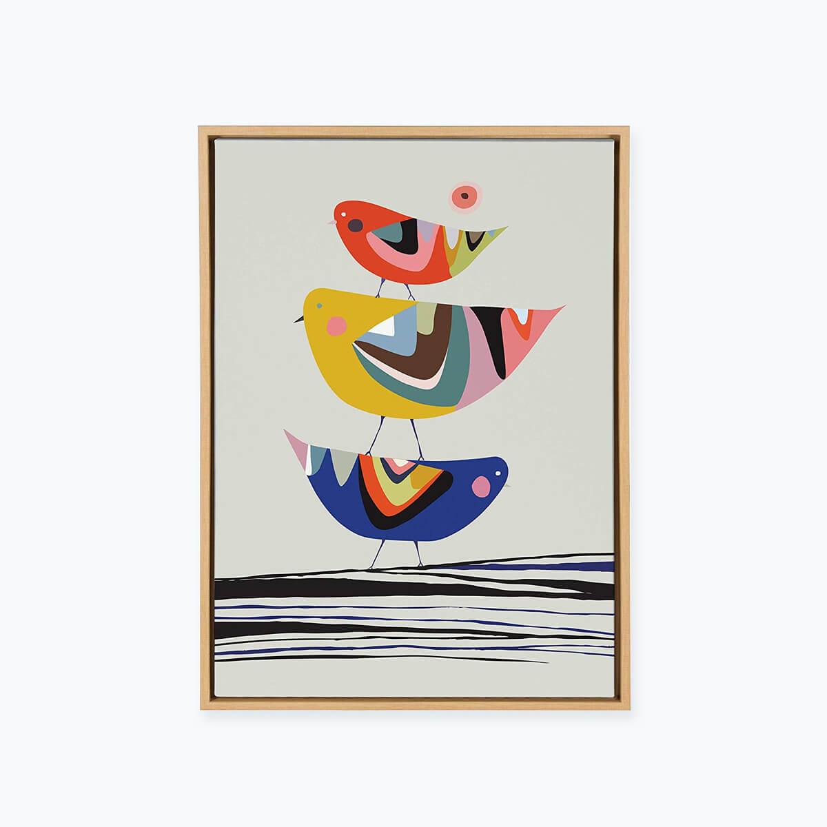 Wall Art, Sylvie Birds